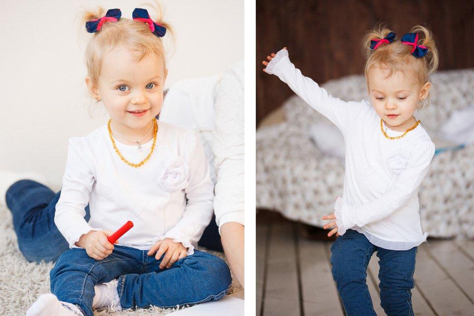 Красивые детские фотографии со студийной фотосъемки