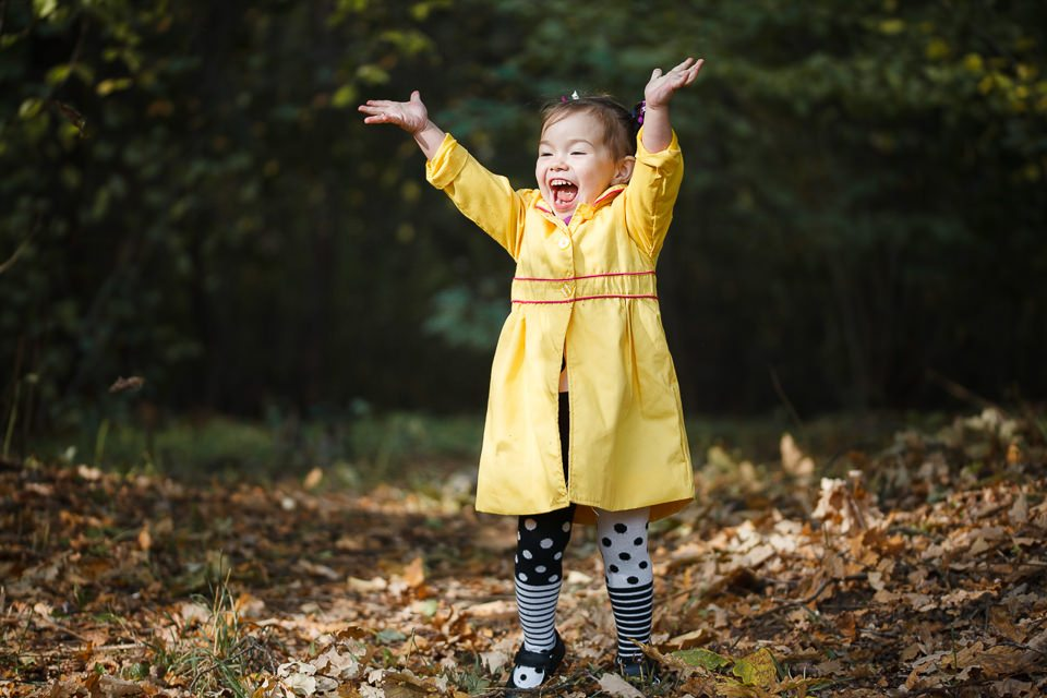 Осенняя фотосессия для Софии