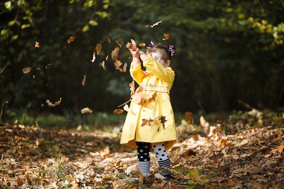 Осенняя фотосессия в парке для Софии