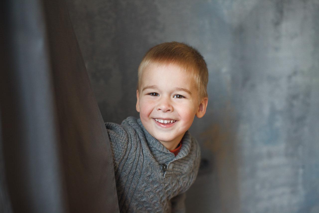Детская фотосессия в интерьере Феломена