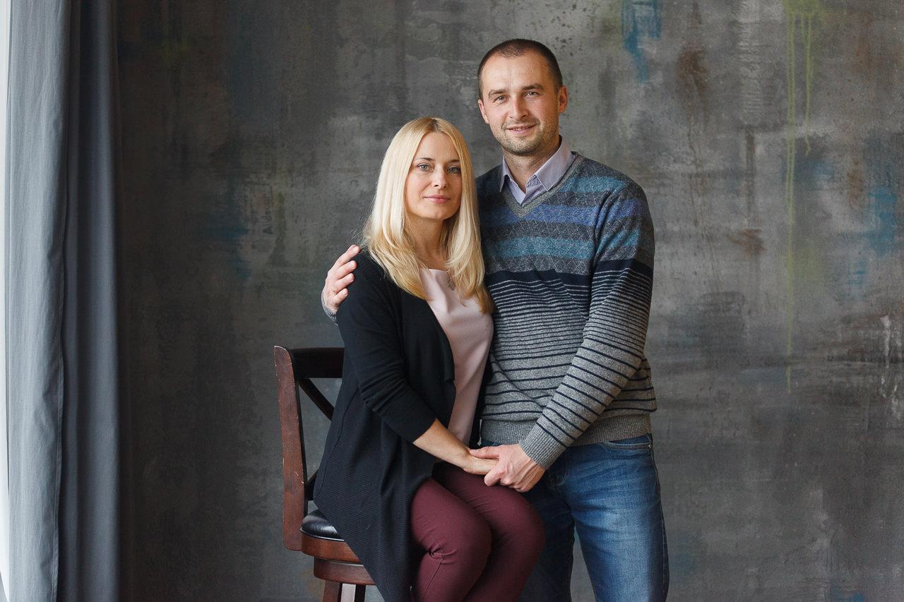 Студийная семейная фотосессия в Минске