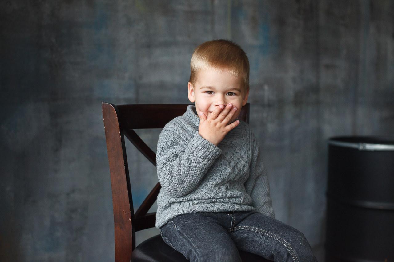 Детская фотосессия в фотостудии Феломена