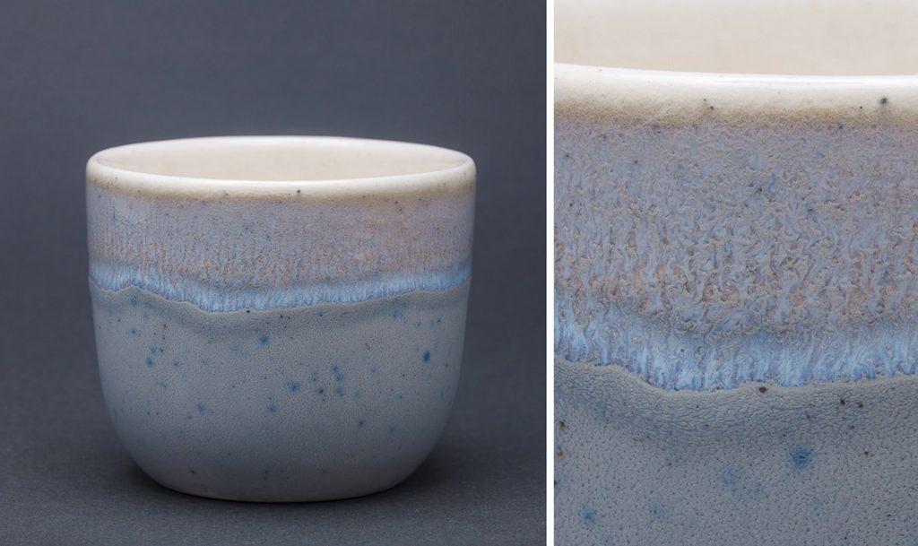 Предметная фотография керамических чашек ручной работы
