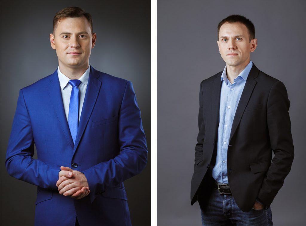 Фотосъемка делового портрета для сотрудников консалтинговой компании