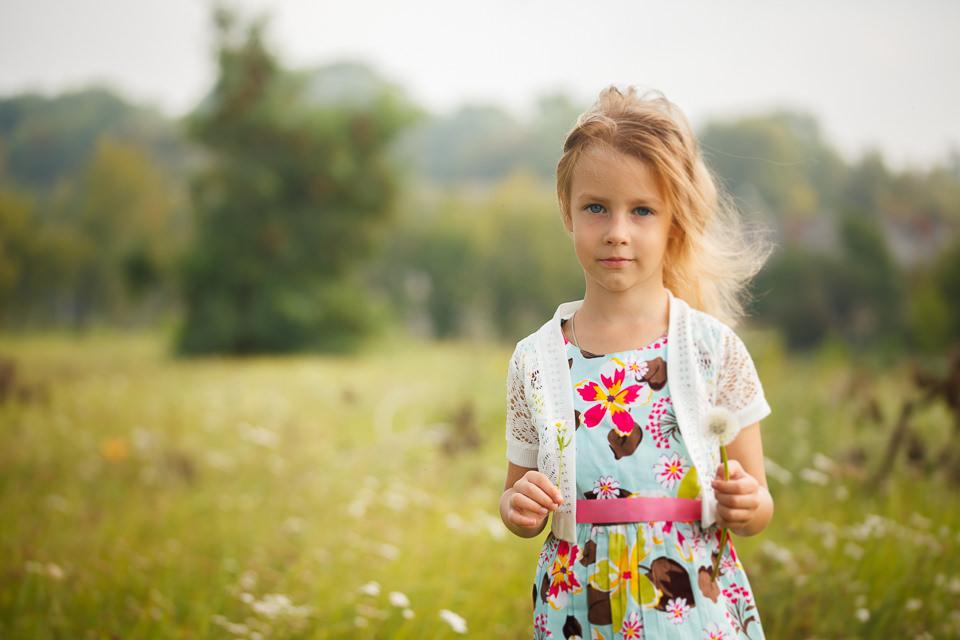 Детская фотосессия для Ульяны в Минске