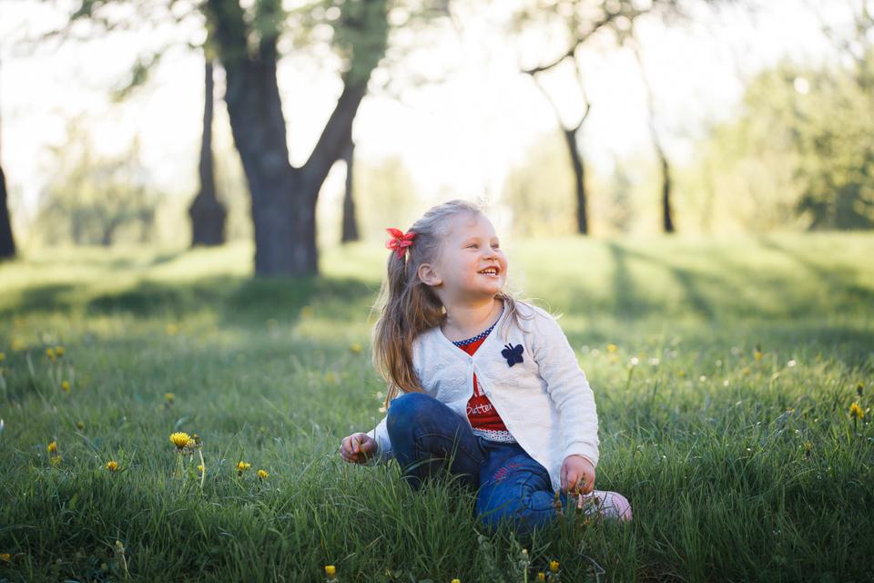 Детская фотосессия в Лошицком парке