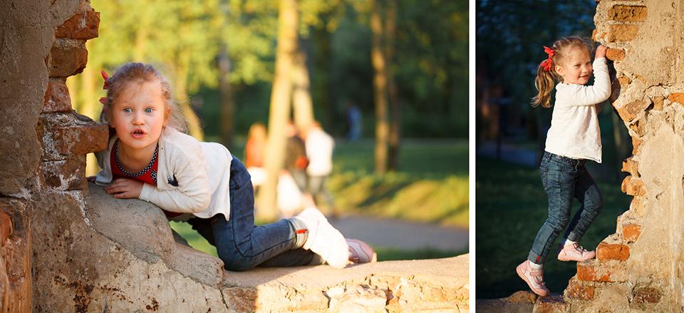 Профессиональная съемка детей в Минске