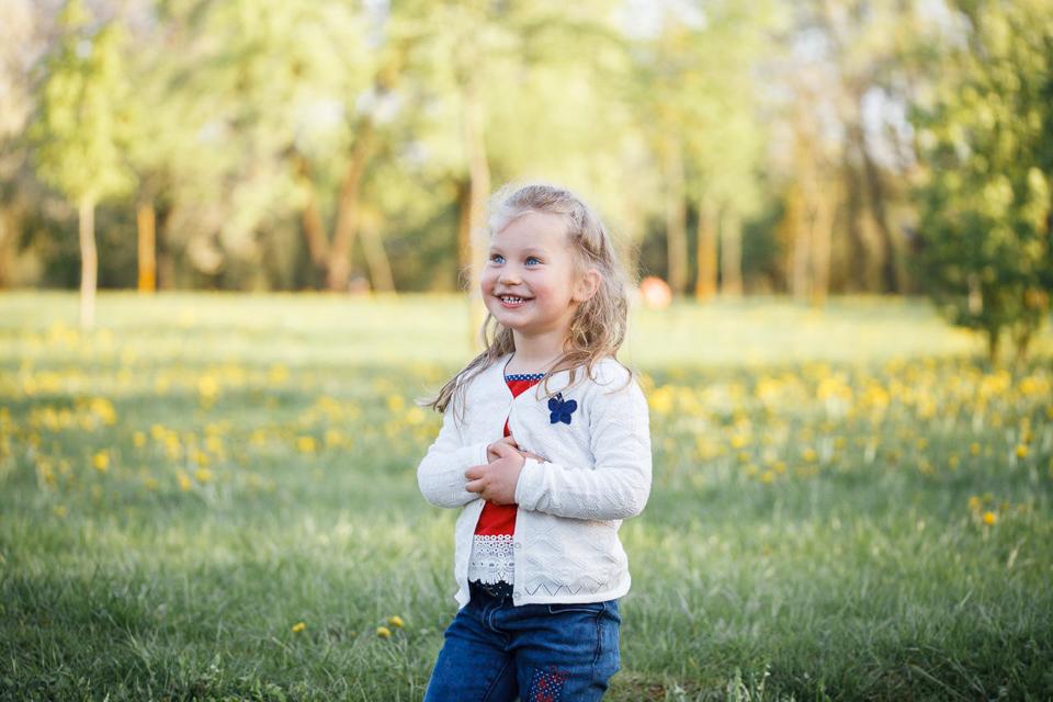 Фотосъемка в парке весной