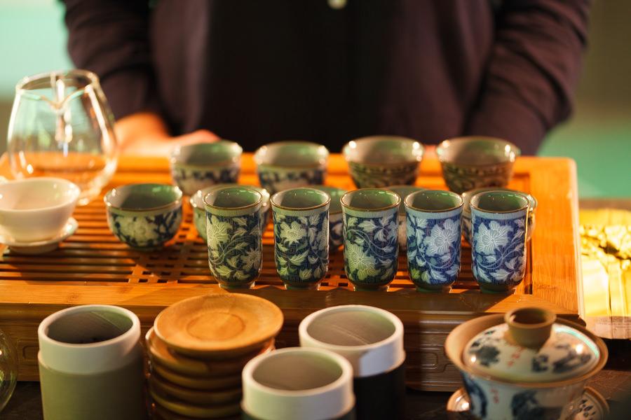 Фото чайных чашек