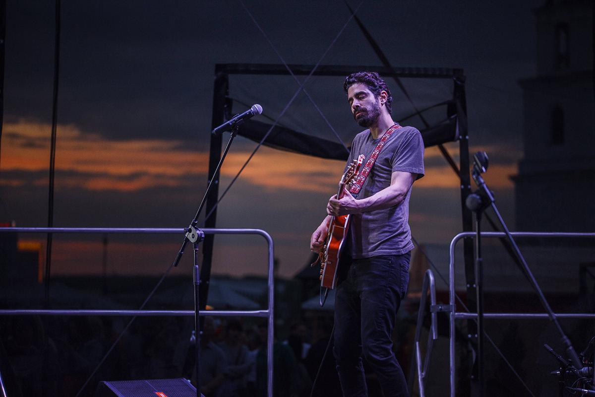 Фотография гитариста