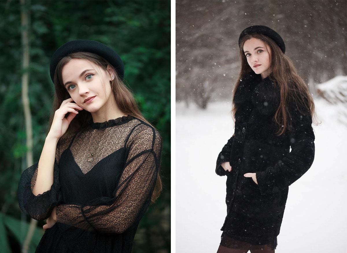 Фотосессия для девушки в Минске