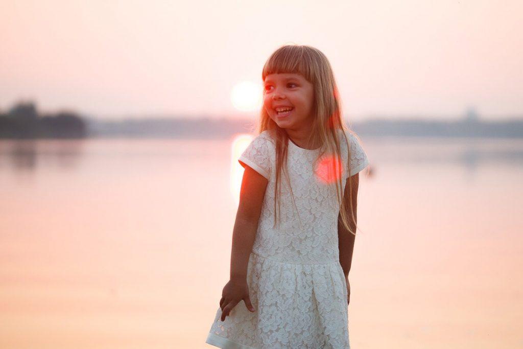 Фотография Ульяны на фоне заката
