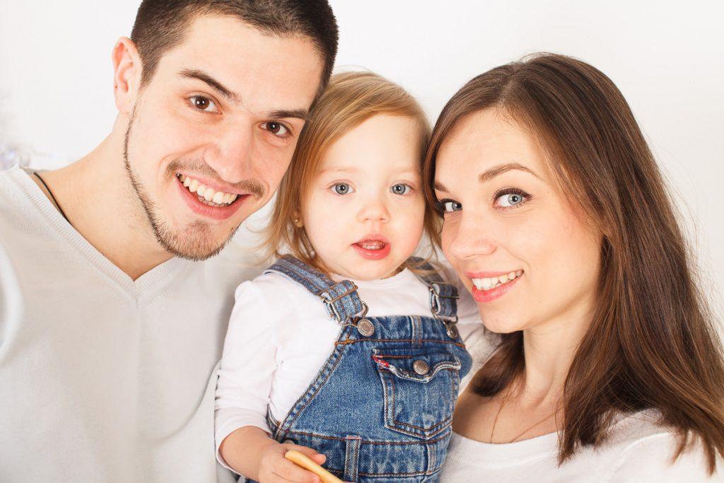 Фотосессия для семьи с ребенком