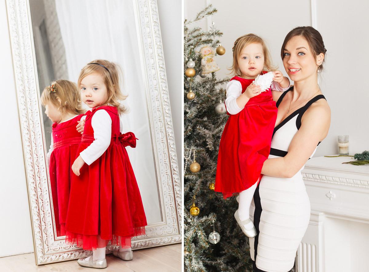 Семейные новогодние фотографии