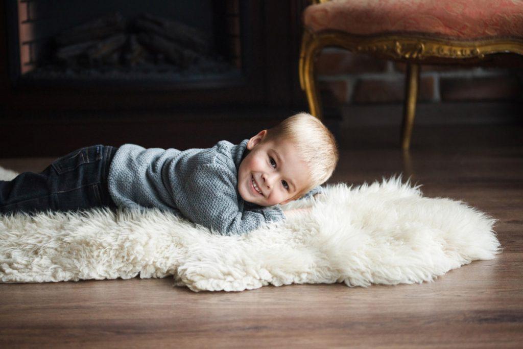 Фото ребенка в фотостудии