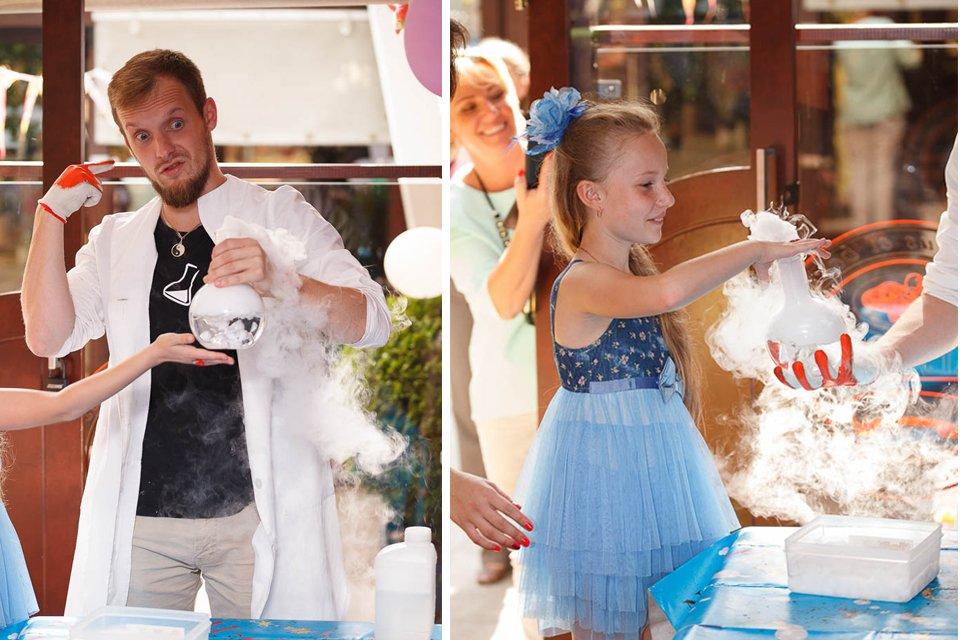 Фотографии с детского праздника
