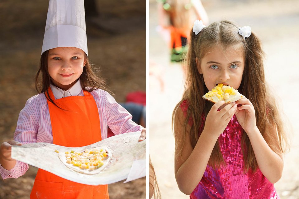 Фотосъемка детского праздника в ресторане