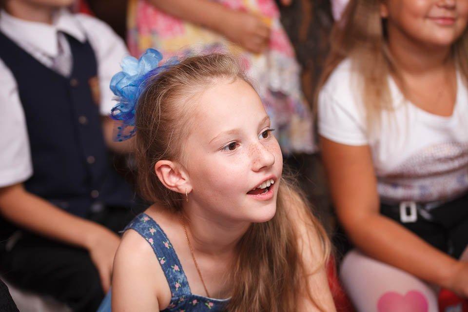 Фото девочки на детском празднике в ресторане в Минске