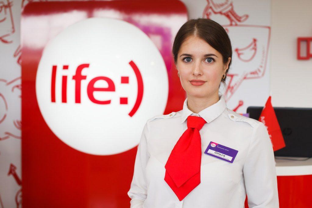 Фотосъемка в салонах связи life:)