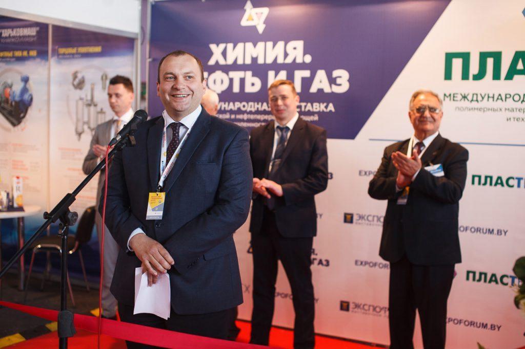Репортажная фотосъемка на международной выставке «Химия. Нефть и газ» в Минске