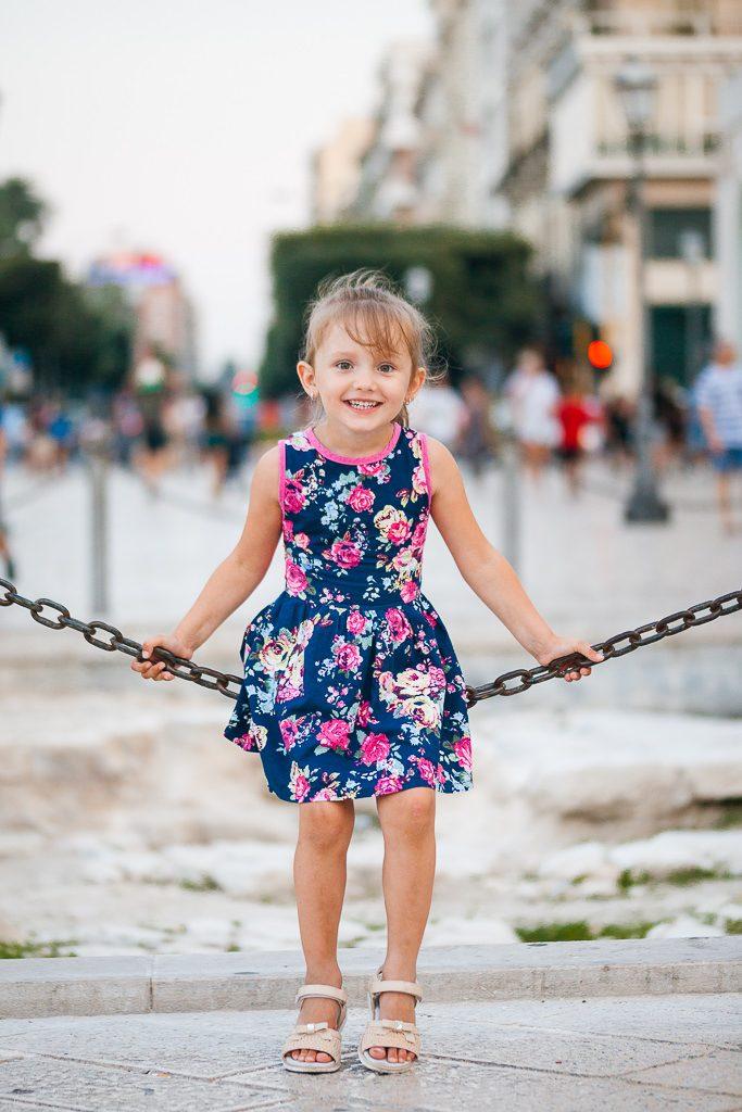 Детская фотосъемка в Италии