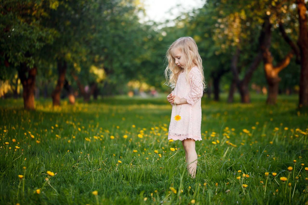 Детская фотосессия в парке-10