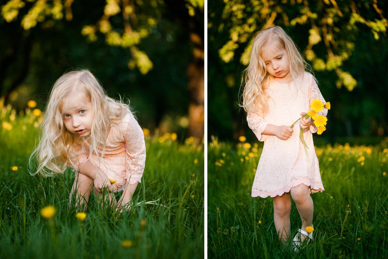 Детская фотосессия в парке-12