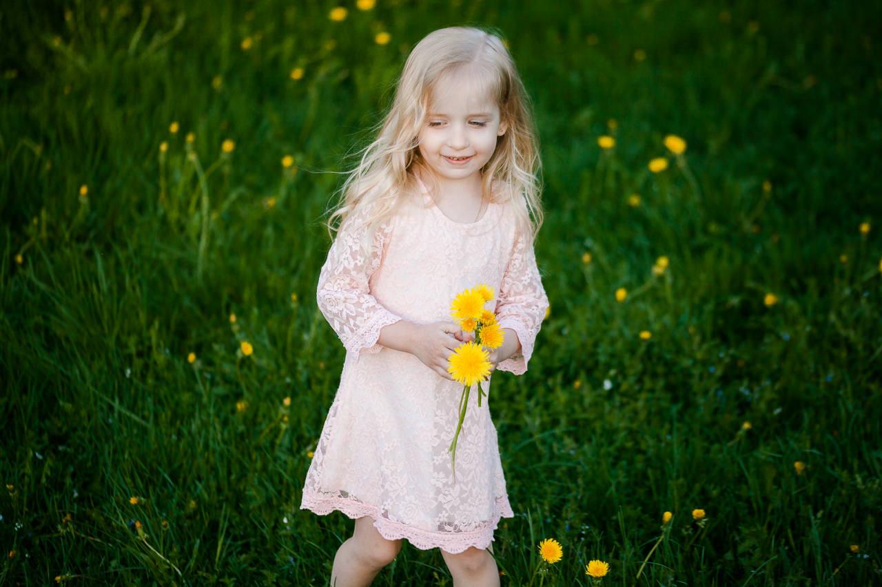 Детская фотосессия в парке-15