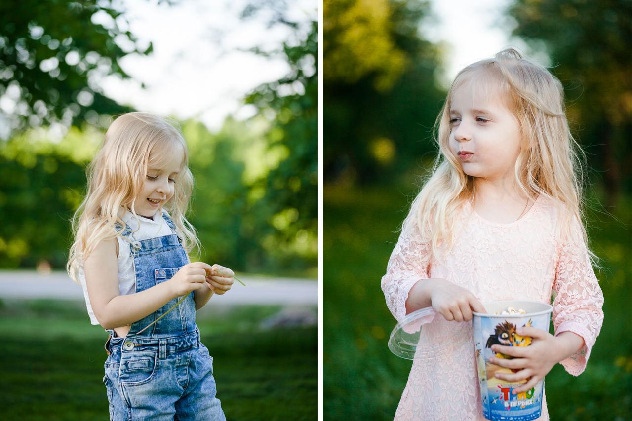 Детская фотосессия в парке-16