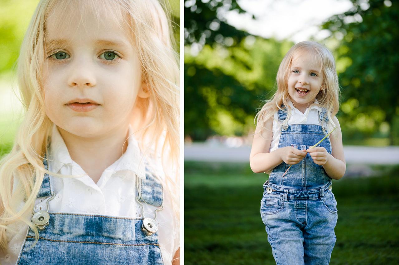 Детская фотосессия в парке-3