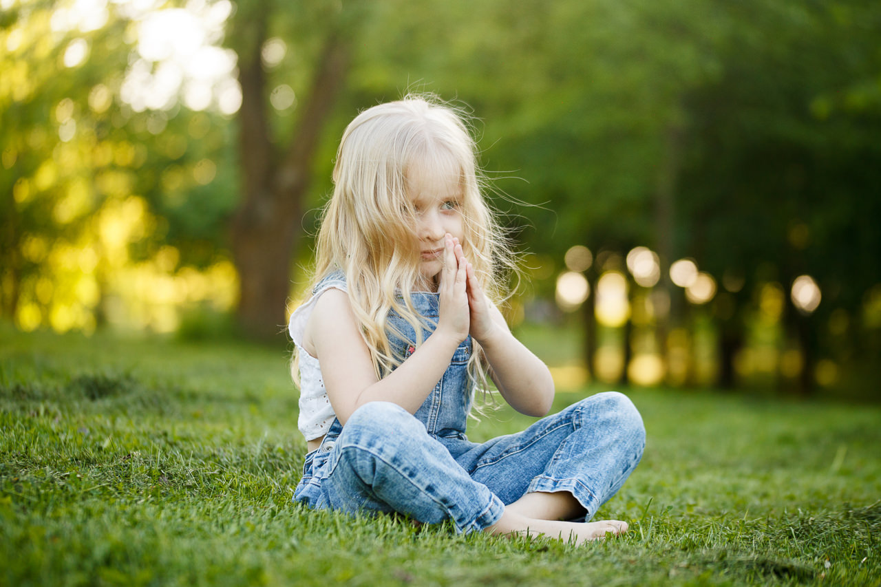Детская фотосессия в парке-4