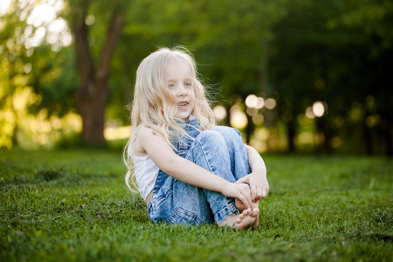 Детская фотосессия в парке-7