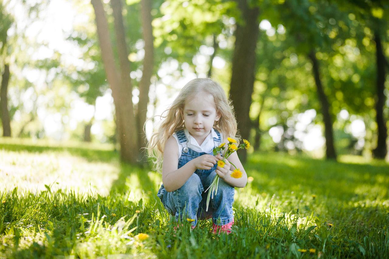 Детская фотосессия в парке-8