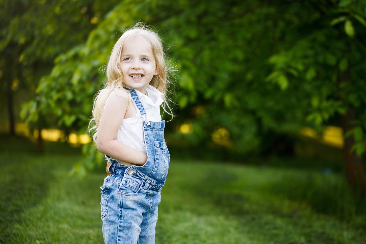 Детская фотосессия в парке-9