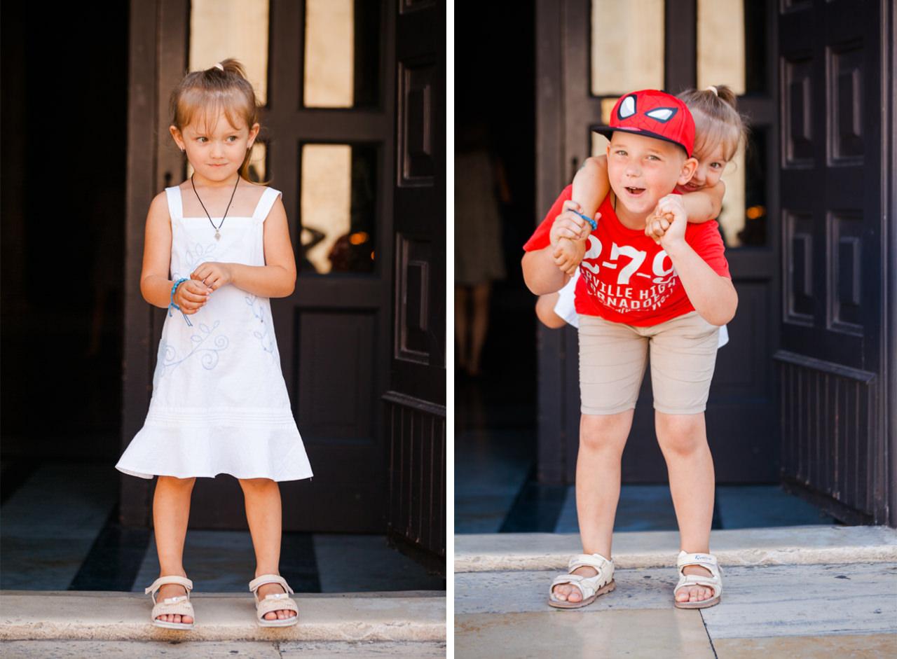 Летняя фотосессия для детей - Варвара и Кирилл