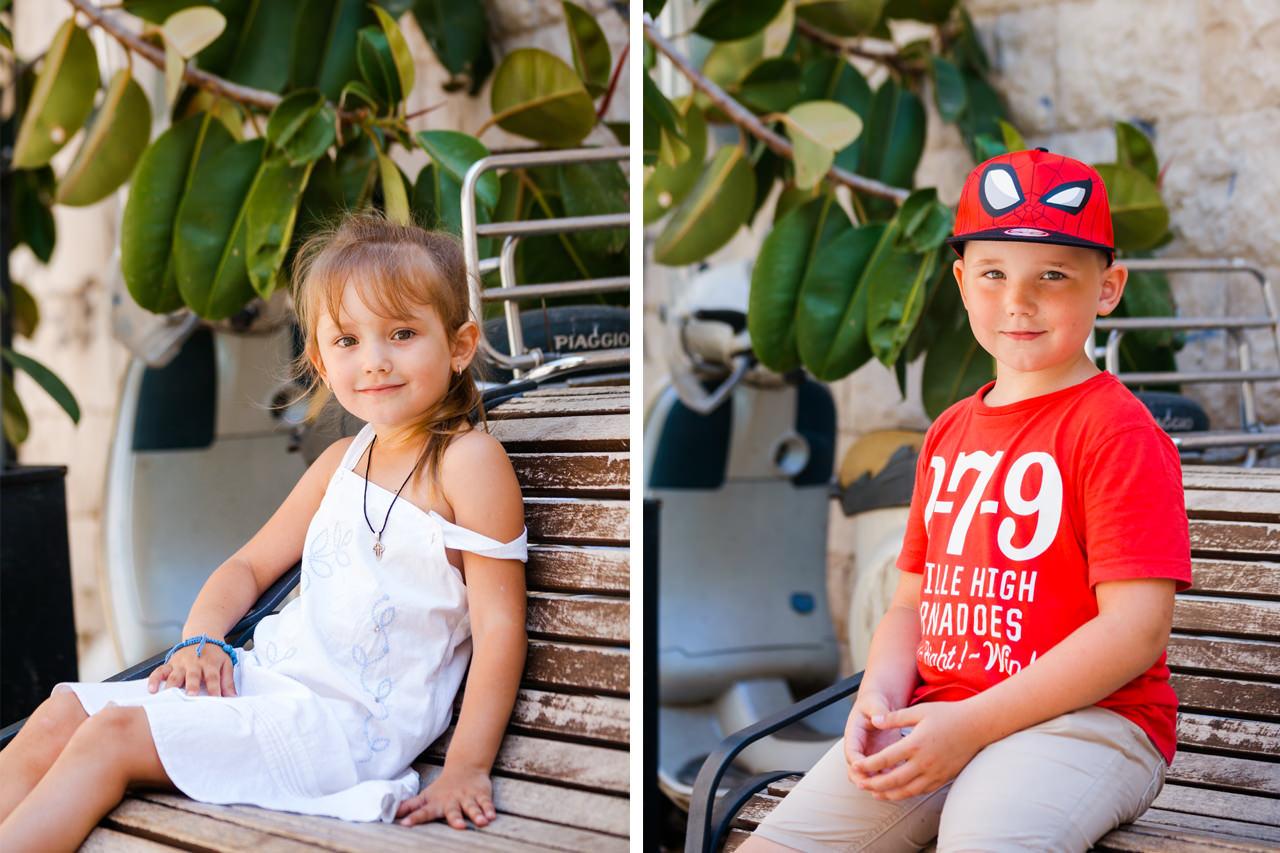 Фотосессия для детей - Варвара и Кирилл