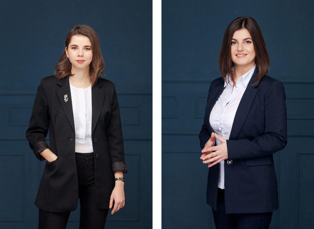 Бизнес портрет сотрудников для сайта консалтинговой компании ares.by