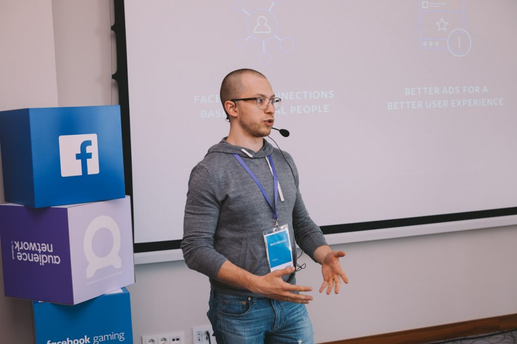Спикер на Facebook gaming workshop Minsk