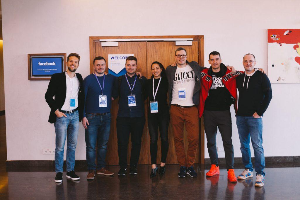 Фотосъёмка на Facebook gaming workshop Minsk