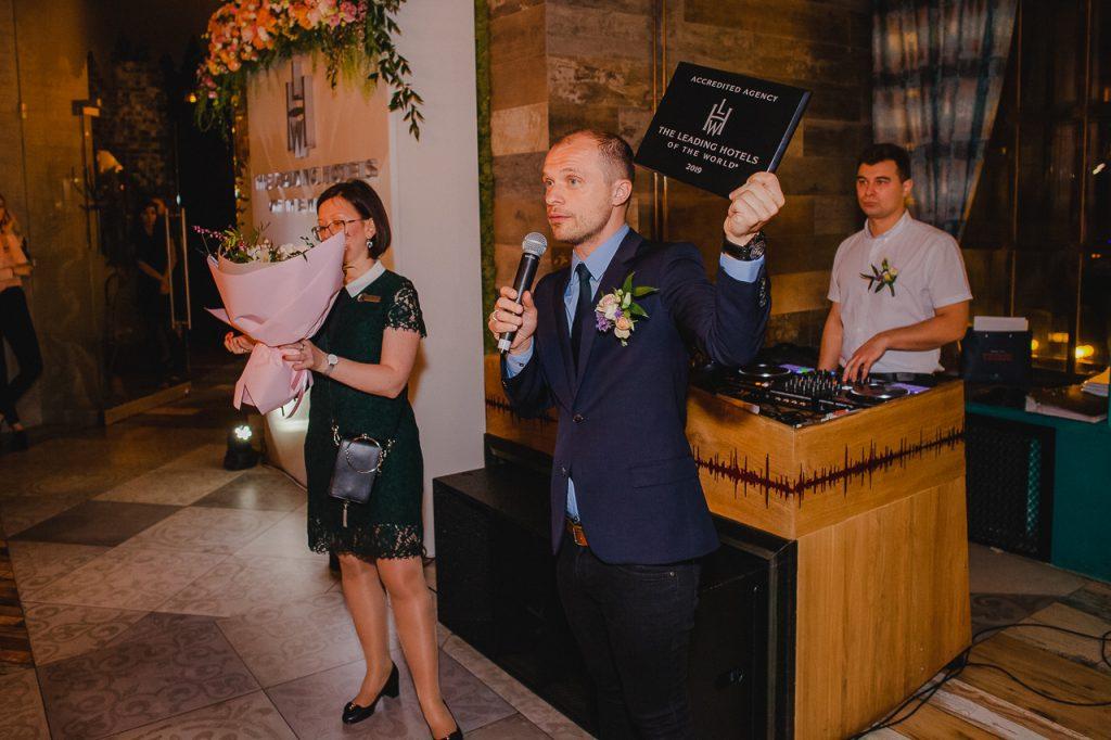 """Репортажная фотосъёмка на мероприятии """"The Leading Hotels"""" в Минске 45"""
